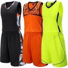 Kids Basketball Jersey Sets Uniforms kits Child Boys Girls Sports clothing Breathable Youth Training basketball jerseys shorts цена 2017
