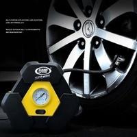 Novel DC 12V Inflatable Pump Triangular Design Car Air Compressor Auto Wheel Pressure Monitor For Vehicle Bike Motor Ball
