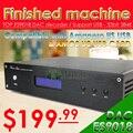 Oferta especial! TOP ES9018 XMOS DAC Decoder Apoyo/Amanero I2S USB 32Bit/384 K Salida XLR balanceada DSD