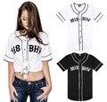 2016 летний новый стильный западная сторона бейсбол рубашки мужчины и женщины Футболки Лето бренд футболка с коротким рукавом футболки