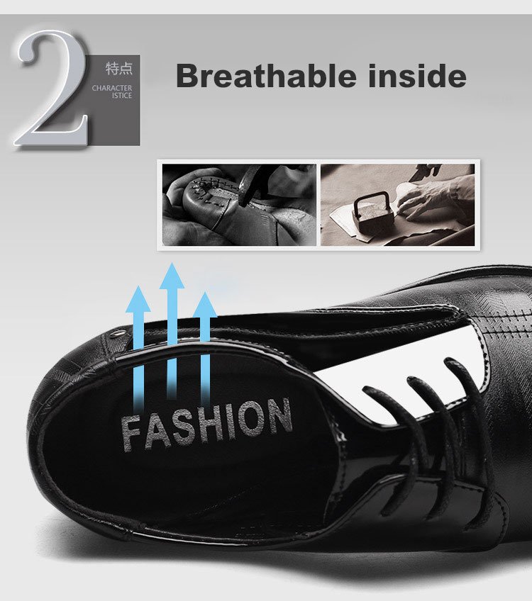 Luxury Business Oxford Leather Shoes 11