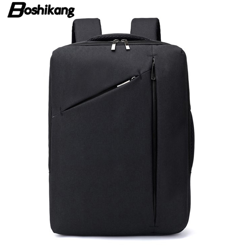 Boshikang Korean Business Backpack School Hand Bag Large Capacity 15.6inch Computer Bag Multi-functional Travel Bag