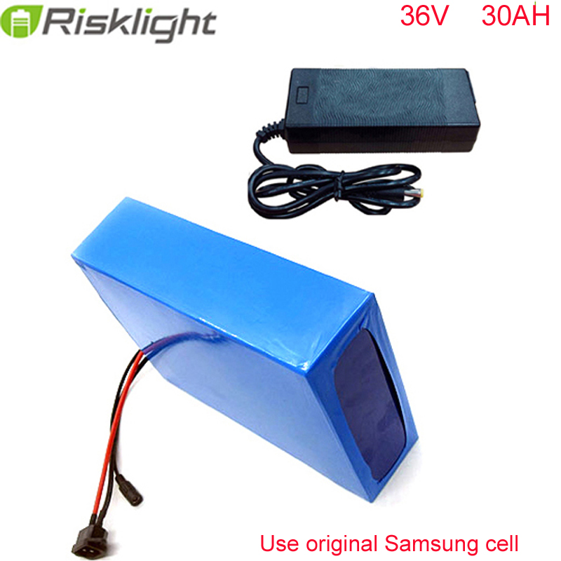 36 Volt Electric Tricycle Bike Battery 1000W 18650 Li ion Battery 36V 30Ah motorcycles, electric scooter For Samsung cell