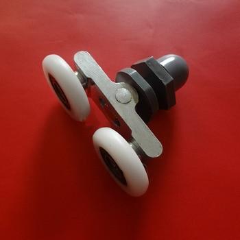8PCS diameter of 19mm 23 mm 25mm 27mm Swing double door pulley Door Roller Series door Wheel sliding door shower pulley HM127
