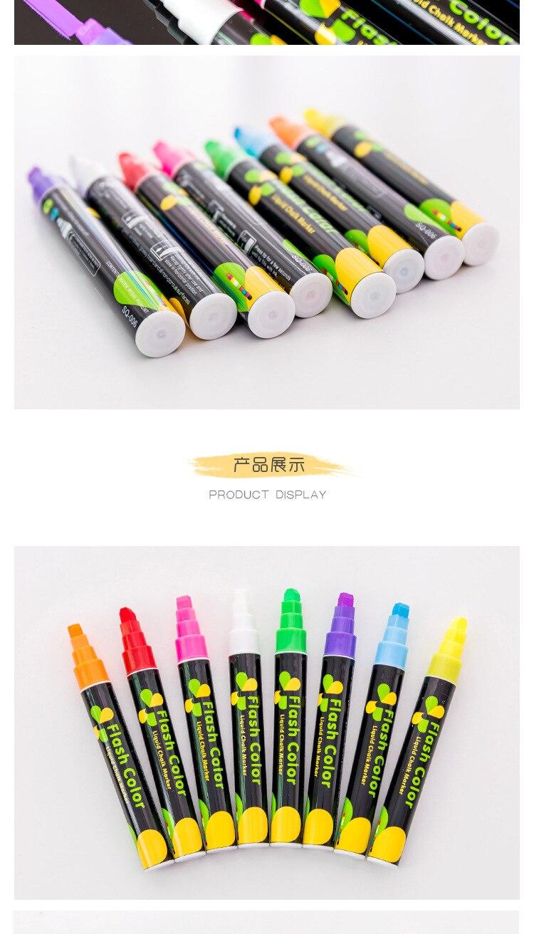186207 Uniball Marker Uni Chalk Marker PWE-5M gelb Stift Pencil