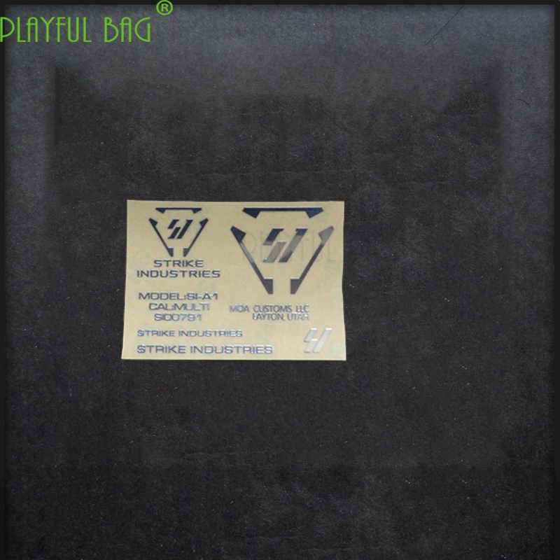 SI atividades ao ar livre CS M4 gel arma bomba de água à prova d' água de metal DIY adesivo de Jinming 8 CICATRIZ 416 novo Bem m4 L12 g36