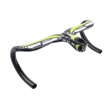 RXL SL Bicycle Handlebar Carbon Fiber 400/420/440mm Handlebars Road Bike Integrated With Stem 28.6mm Handlebars Road Bike