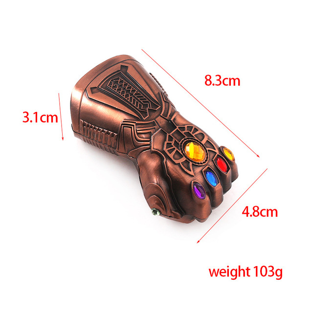 Creative Infinity Thanos Gauntlet Glove Beer Bottle Opener Glass Cap Action Figure Toys in Action Toy Figures from Toys Hobbies