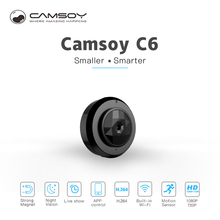 C6 Camsoy Cookycam Micro Wifi Mini Camera Wireless HD 720P With Night Vision Smartphone App IP Home Security Video Camcorder camsoy c6 mini camera for baby home security wifi ip control by mobile phone with night vision hd 720p dvr cam new gadgets 2017