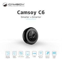 C6 мини Kamera с Wi-Fi подключение IP Управление HD 720 P видео Разрешение и обнаружения движения мини Камера цифровой микроскоп смартфон видеокамеры
