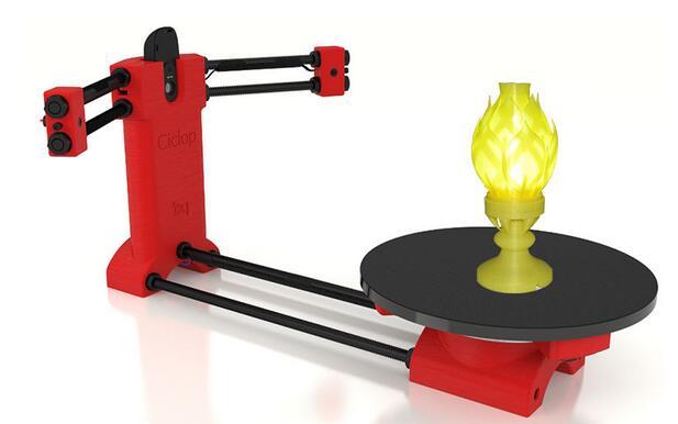 DIY 3D he3d scanner 3D scanning machine kit main board accessories ...