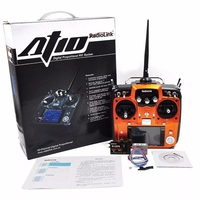 Radiolink AT10II 12CH RC Transmitter and Receiver R12DS 2.4GHz DSSS&FHSS Spread Radio Remote