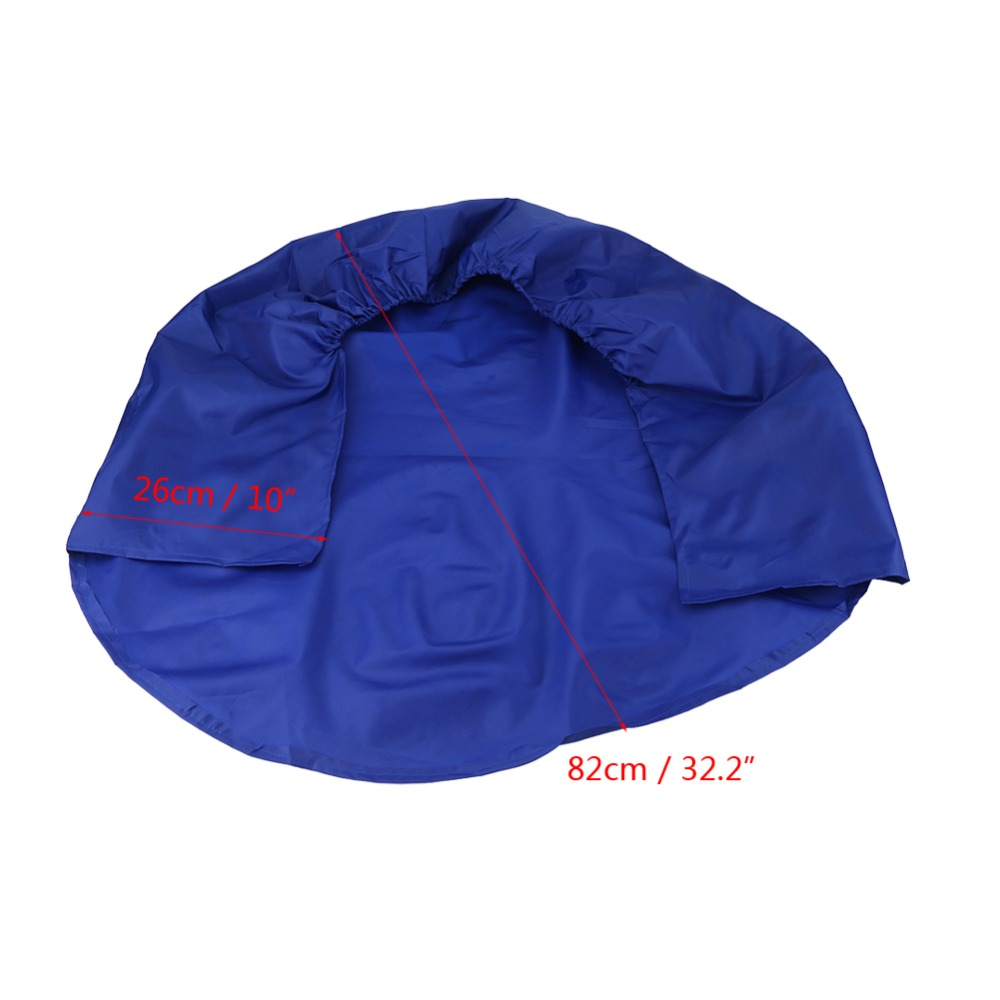4pcs 32 Inch Wheel Tire Covers Wheel Protective Covers for RV Truck Car Camper Trailer Blue