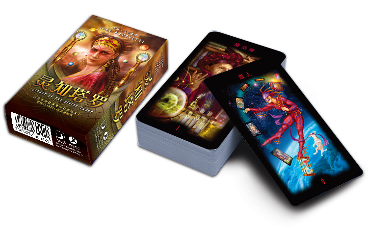 Legacy Of The Divine Tarot Gnosis Tarot Board Game High Quality Paper Cards Chinese Edition For Astrologer