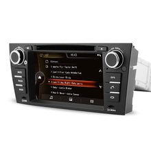7″ HD Capacitive Touch Screen Car DVD Player GPS Navigation for BMW E90 E91 E92 E93 E88 E82 Auto or Manual with Original BMW UI