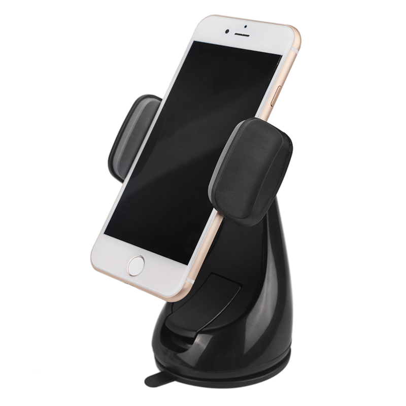 Car Phone Holder Stand Mount Slicone Sucker Windshield 360 Degree Rotation Universal Phone Holder For Mobile iphone 7 Xiaomi GPS