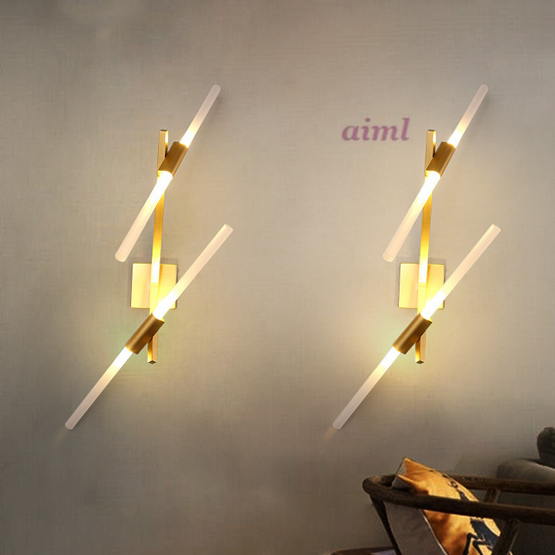 JCZ Modern designer branch branches Wall light 110V/220V Nordic minimalist Wall lamp artificial bunch with 11 branches