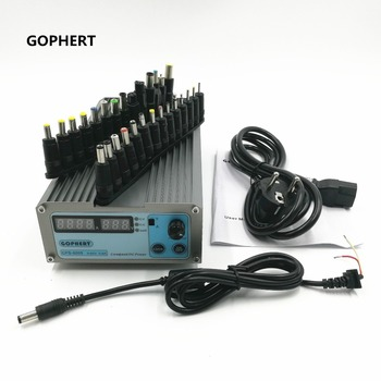 CPS-6005 Mini Digital Adjustable Switching DC Power Supply OVP/OCP/OTP Low Power 60V 5A 110V-220V  + 28pcs Laptop Power Adapter
