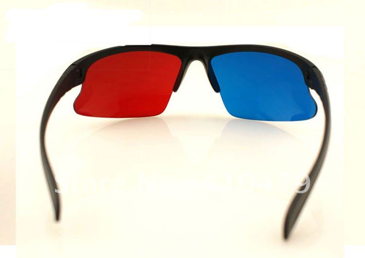 <font><b>Best</b></font> Sale Red Blue <font><b>Anaglyph</b></font> 3D Dimensional 3 D <font><b>Glasses</b></font> DVD <font><b>Movie</b></font> with Free Shipping DHL or EMS