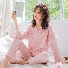 Nursing Maternity Sleepwear 2019 Summer New Fashion Cotton V-Neck Comfortable Breathable Breastfeeding Pregnant Pajamas Set A322 hot new v23049 b1007 a322 v23049 b1007 v23049 b1007 a322 v23049 a332 24vdc dip