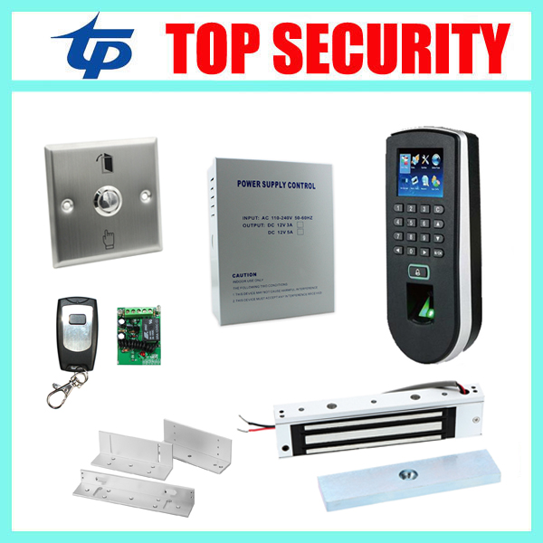 DIY ZK standalone biometric fingerprint time attendance and access control system F19 fingerprint door access controller kit good quality high speed zk f19 biometric fingerprint access control system standalone fingerprint door access controller reader