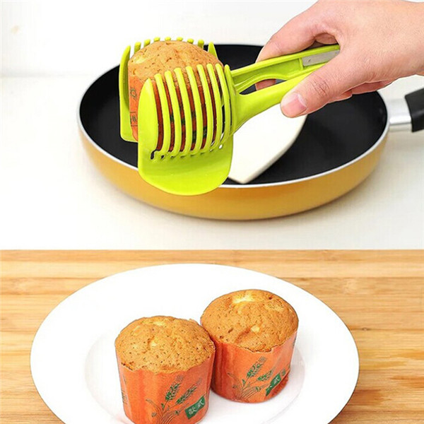 Tomato Slicer Clamp - Cut perfect slices without squashing it ! 4
