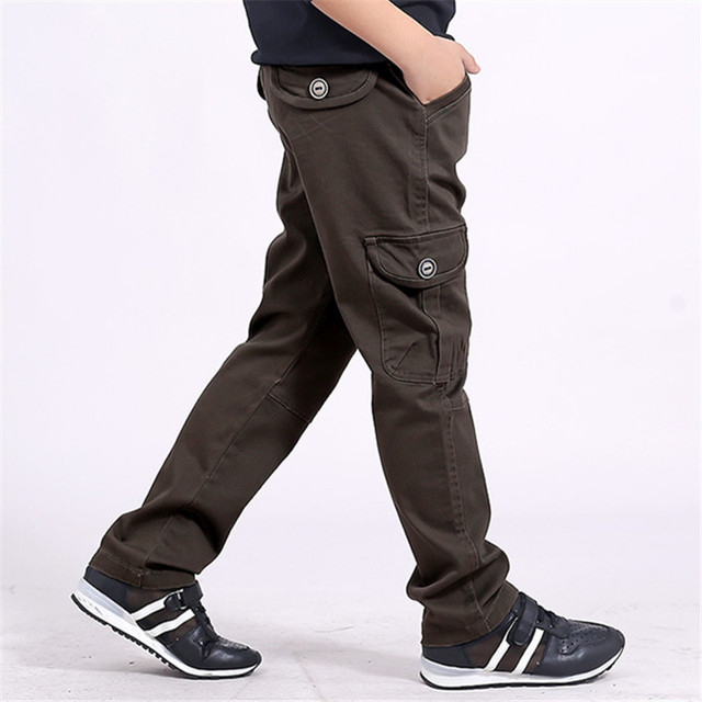 Novas crianças roupas de meninos calça casual crianças calças de algodão 2016 modelos primavera Zhongda menino calças casuais calças de menino