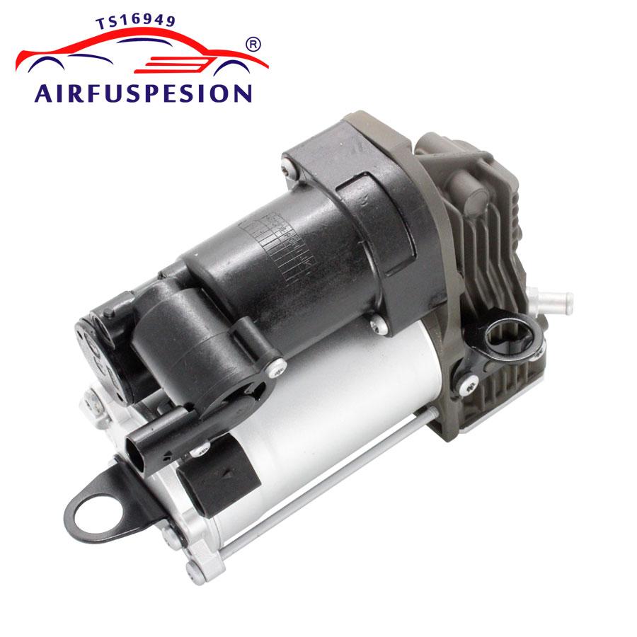 For Mercedes benz W164 X164 ML GL Class Air Compressor pump Airmatic Air Suspension Spring 1643201204 1643201004 1643200204 airmatic suspension bag for mercedes w164 ml class rear 1643200625 pair gl450 x164 luftfederung springs