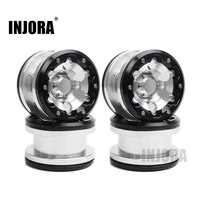 INJORA 4Pcs 2 2 Inch High Quality Beadlock Wheel Rim Hub For 1 10 Axial SCX10