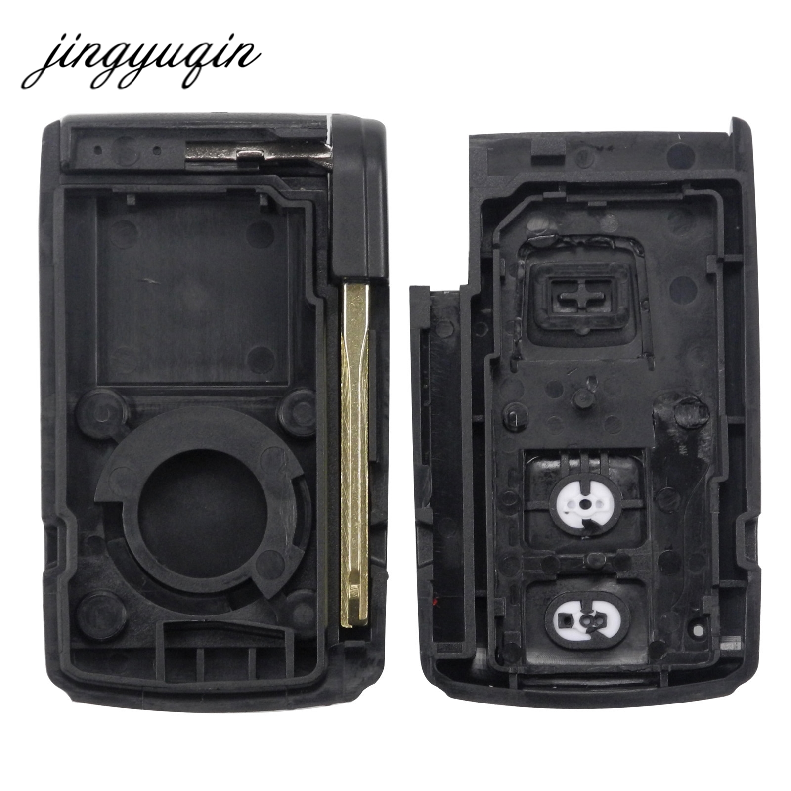 Image 5 - jingyuqin 2 BUTTON REMOTE KEY CASE FOR TOYOTA PRIUS COROLLA VERSO TOY43 BLADE-in Car Key from Automobiles & Motorcycles