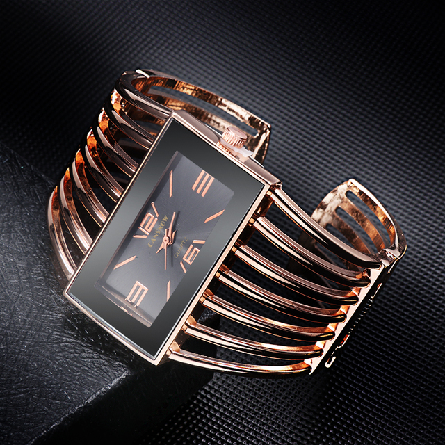 HightFashion Luxury Women Pointer Watch Gold High Quality Watch Dress Clock Fema