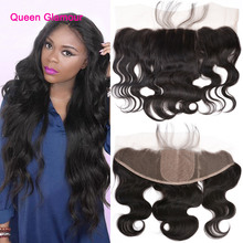 13×4 Ear To Ear Silk Base Frontal Closure With Baby Hair 8A Brazilian Virgin Hair Body Wave Lace Frontal Closure Bleached Knots