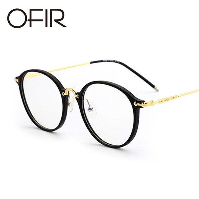OFIR New Round Glasses Frame Male and Female Student Prescription ...