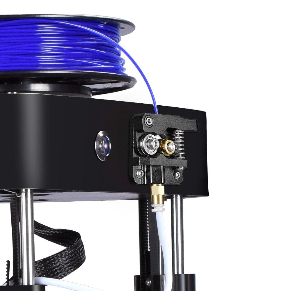 BIQU маг 3D принтер Высокая точность 32 бит мини коссель Дельта принтер MK8 экструдер полная сборка TFT28 сенсорный экран Титан
