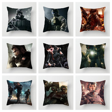 Fuwatacchi Rainbow Six Siege Series Printed Cushion Cover Special Force Stylr for Sofa Home Pillowcase Decorative