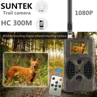 Suntek HC300M Hunting Camera 940nm Night Vision Full HD 1080P MMS GPRS Hunting Game Trail Camera