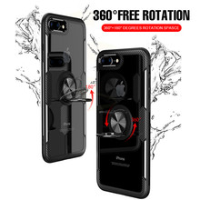 Luxury Shockproof Soft Holder Case On The For iphone X XR XS