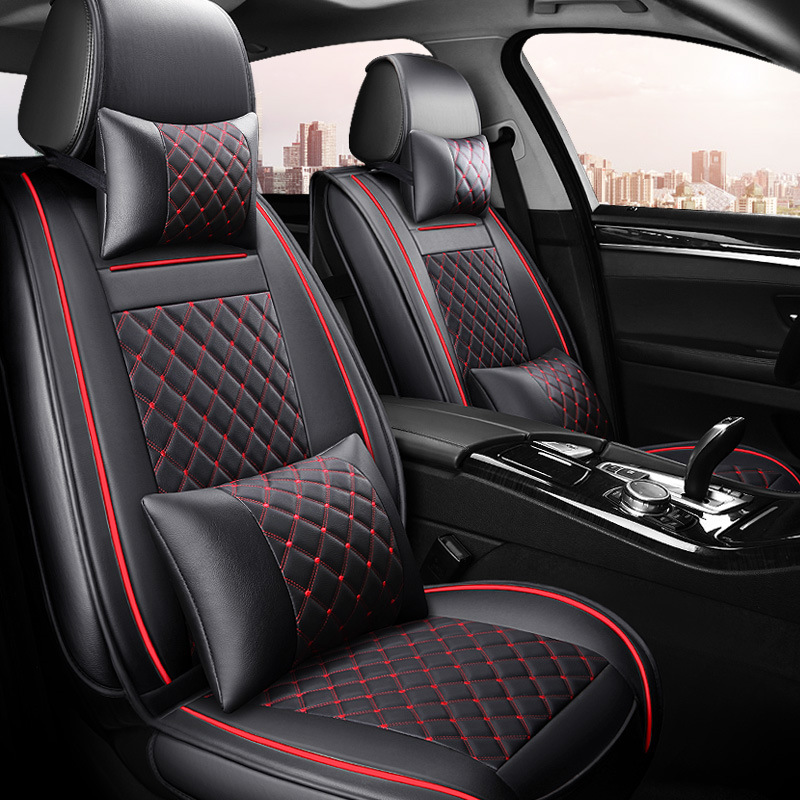 Universal Pu Leather Car Seat Cover Auto Seats Covers For