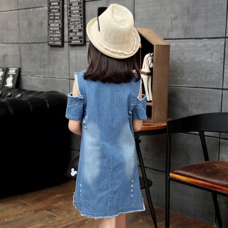 Baby Girls Dresses Summer Short Sleeve Knee Length One Piece Dress A Line Cartoon Sweet Kids Casual Fashion Clothing Shirt Tees