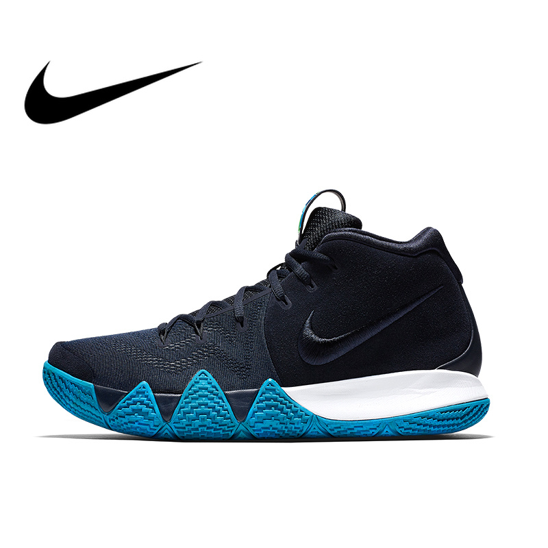 the best attitude fe9e8 4d6b8 US $106.57 40% OFF|Original Authentic NIKE KYRIE 4 EPmens Totem Zoom Air  Basketball Shoes Sneakers Hiking Sport Outdoor Good Quality Durable  943807-in ...