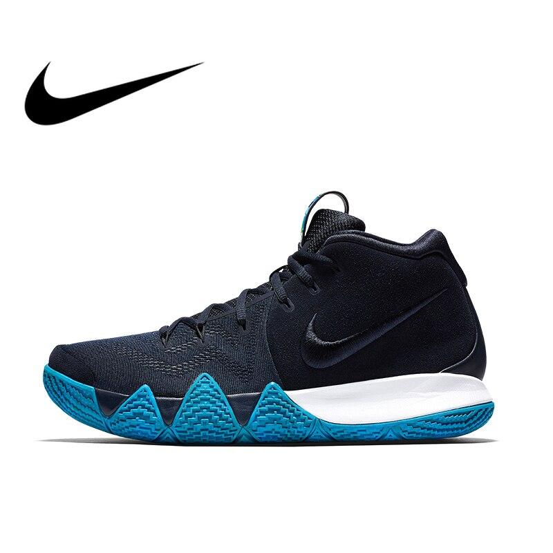 Original authentique NIKE KYRIE 4 EPmens Totem Zoom Air basket-ball chaussures baskets randonnée Sport en plein Air bonne qualité Durable 943807