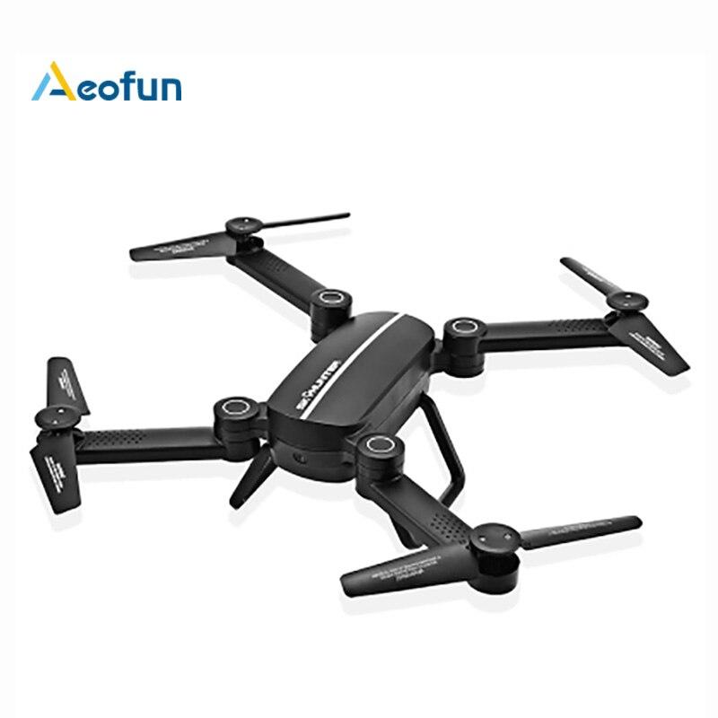 X8T X8TW RC Dron Pliable Avec Wifi FPV 0.41MP HD caméra 2.4G 4CH 6-Axis Gyro Quadcopter Maintien D'altitude Drone VS XS809W