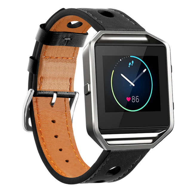 Fitbit Blaze Vented Leather Strap