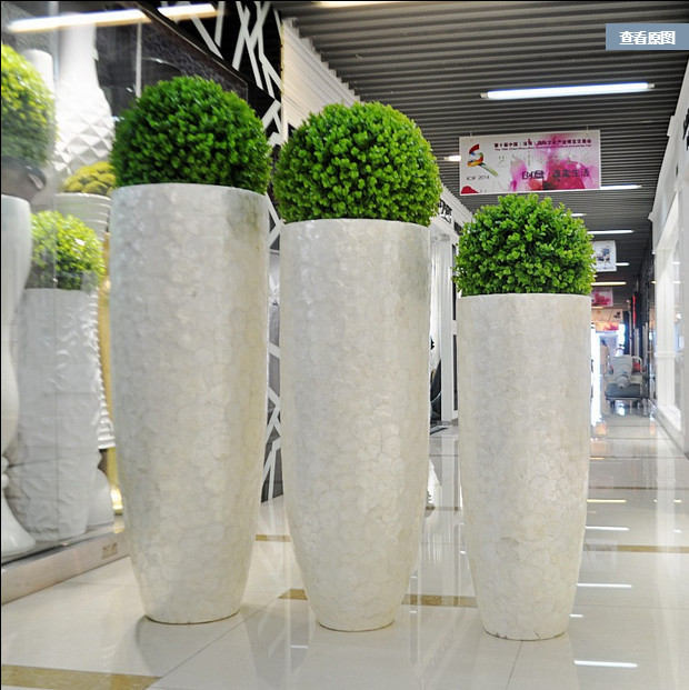 High Quality Tall Decorative Indoor Flower Pots In Flower