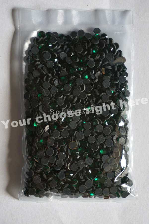 DMC Hotfix Rhinestone,Color Emerald,Dark green Size ss20 (4.8-5.0mm) - Arts, Crafts and Sewing - Photo 3