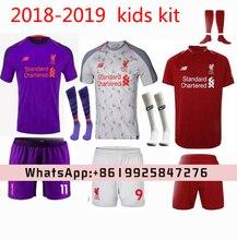 22e316951 2018 2019 NEW Liverpooles kids Home away child soccer Jerseys camisetas shirt  survetement Football shirt.