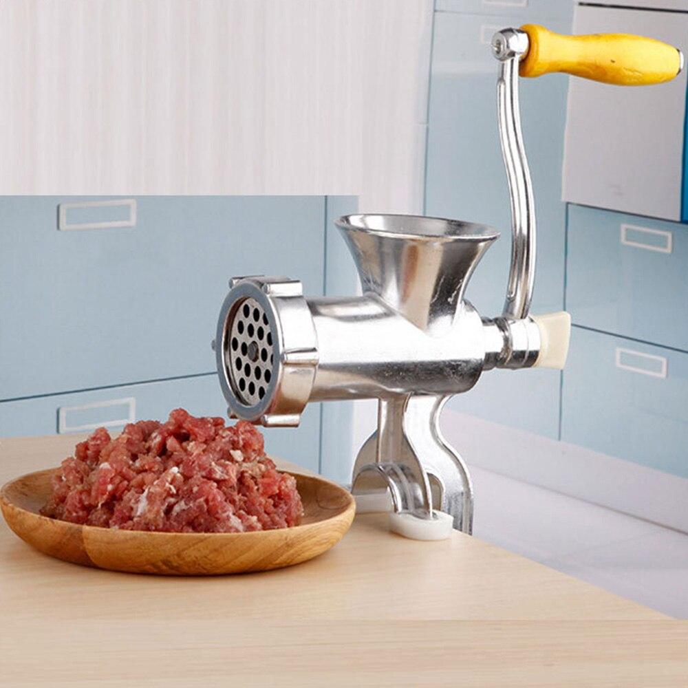 Manual Meat Grinder For Sausage Beef Mincer Noodles Cookies Manual Food Processors Kitchen Tools Meat Grinder Home Kitchen