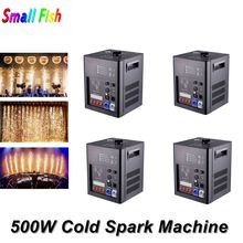 500W Cold Spark Fountain Wedding Stage Fire Work Machine Indoor Professional Dj Fireworks
