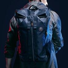 TANGCOOL erkek moda sırt çantası 15.6 laptop sırt çantası çanta su geçirmez sırt çantası günlük okul sırt çantası üniversite öğrencisi için