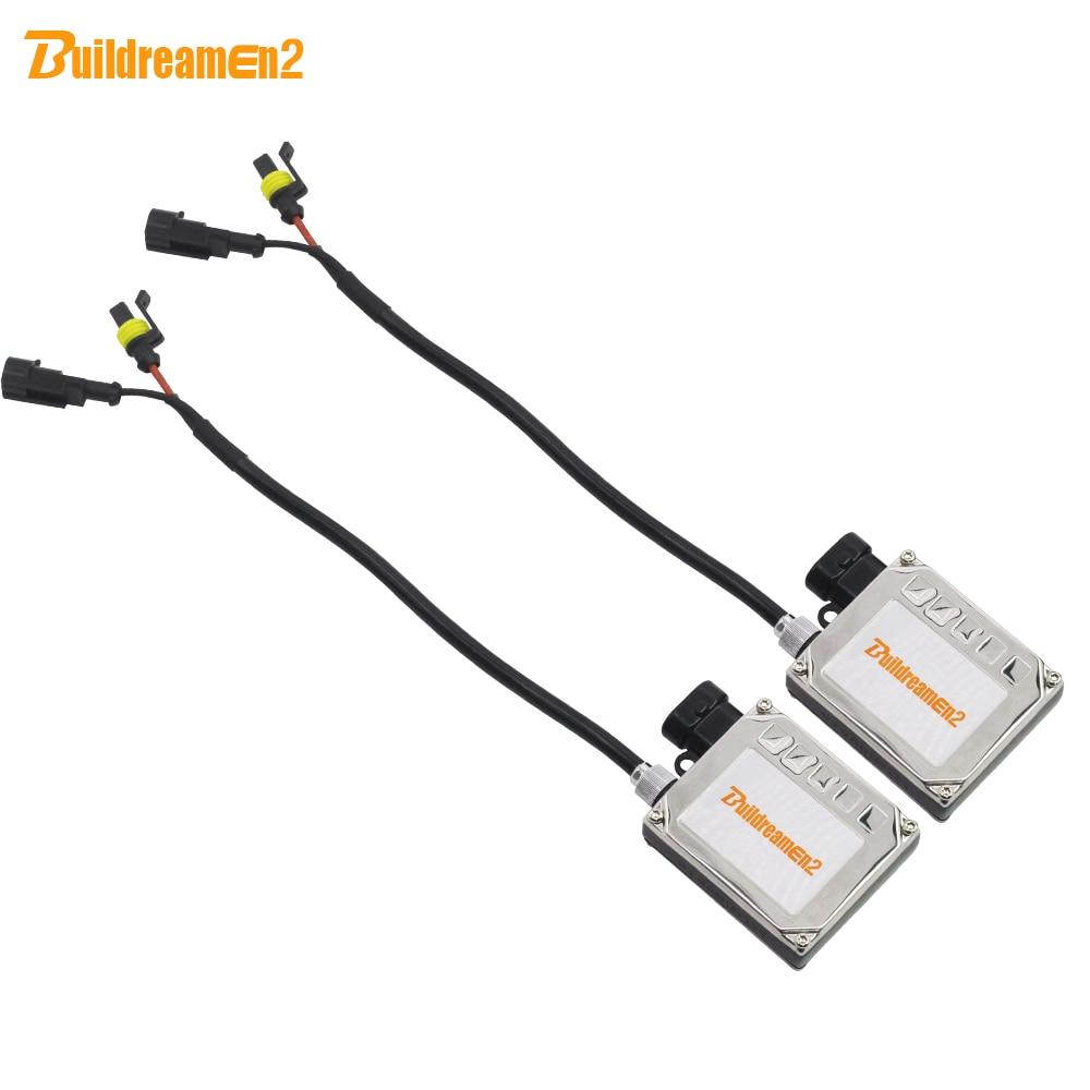 Buildreamen2 55W 12V HID Xenon Ballast Ignition Block Electronic Ballast For Car Xenon Bulb H1 H3 H4 H7 H8 H11 9005 HB3 9006 HB4